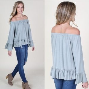 Altar'd State Off The Shoulder Top